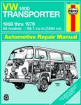 VW 1600 Transporter Haynes Repair Manual (1968 - 1979)