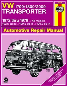 VW 1700/1800/2000 Transporter Haynes Repair Manual (1972 - 1979)
