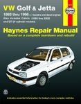 VW Golf, GTI & Jetta & Cabrio Haynes Repair Manual (1993-2002)