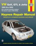 VW Golf, GTI, & Jetta Haynes Repair Manual (1999-2005)