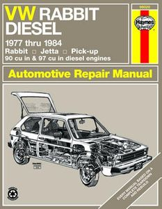VW Rabbit, Jetta & Pick-up Haynes Repair Manual (1977 - 1984)