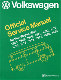 VW Station Wagon/Bus-Type 2 Models Service Manual (1968-1979)