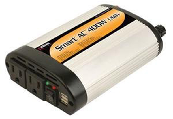 Image of Wagan Smart AC 400 Watt USB Power Inverter