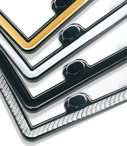 WeatherTech® ClearCover™ License Plate Covers