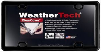 WeatherTech® ClearCover License Plate Covers