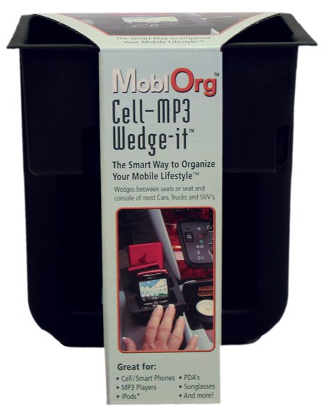 Image of Wedge-it Cellphone & MP3 Holder