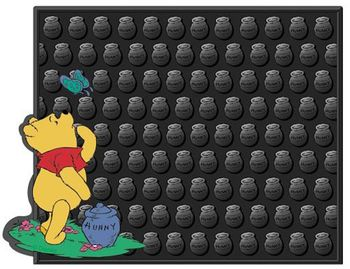 Winnie The Pooh & Butterfly Utility Mat