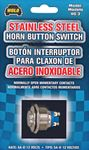 Wolo 12 Volt Stainless Steel Horn Switch