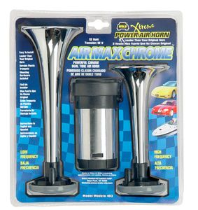 Wolo Air Max Chrome Dual Tone Air Horn