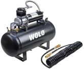Wolo Air Rage 5 Gallon Steel Tank & Compressor