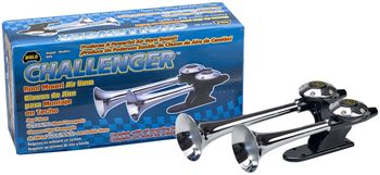 Wolo Challenger Roof Mounted Chrome Air Horn
