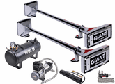 Wolo Giant Roof Mount Air Horn Set Lanyard Valve Operated