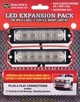 Wolo LED Grill & Surface Mount Warning Light Expansion Kit