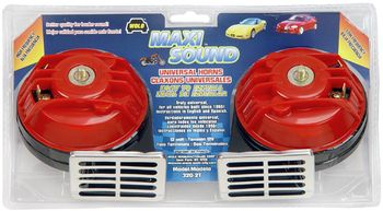 Wolo Maxi Sound Red Universal Horn