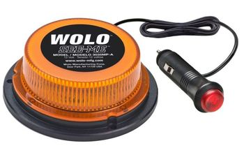 Wolo See-Me GEN 3 LED Mount Amber Lens