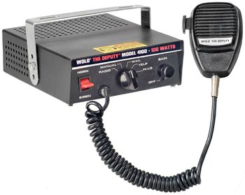 Wolo The Deputy™ Electronic Siren, P.A. System & Radio Rebroadcast