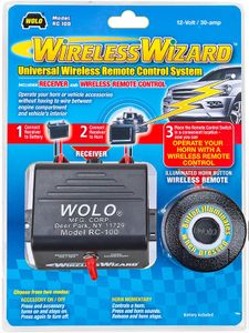 Wolo Universal Wireless Remote Control System