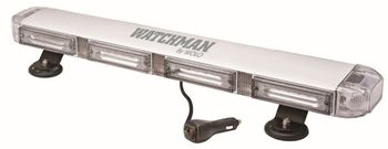 Wolo Watchman Clear Lens Amber Linear LEDs