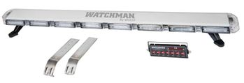 """Wolo Watchman 48"""" Clear Lens Amber Linear LED's"""