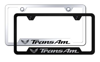 Trans Am Laser Etched Stainless Steel Cut-Out Frame
