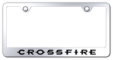 Chrysler Crossfire Laser Etched Mirrored Finish Stainless Steel Frame