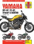 Yamaha MT-07, FZ-07, MT-07TR Tracer & XSR700 Haynes Repair Manual (2014-2017)