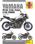 Yamaha MT-09, FZ-09, Tracer FJ-09 & XSR900 Haynes Repair Manual (2013-2016)
