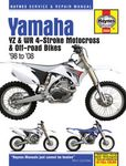Yamaha YZ & WR 4-Stroke Motocross & Off-Road Bikes Haynes Repair Manual  (1998 - 2008)