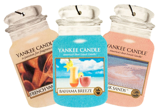 Yankee Candle Car Jar Air Fresheners -  Midsummers Night