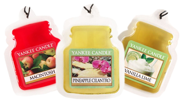 Yankee Candle Car Jar Ultimate Air Fresheners -  Clean Cotton