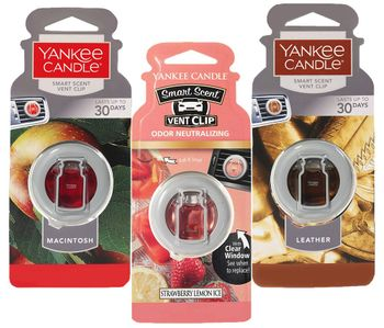 Yankee Candle Vent Clip Car Air Fresheners