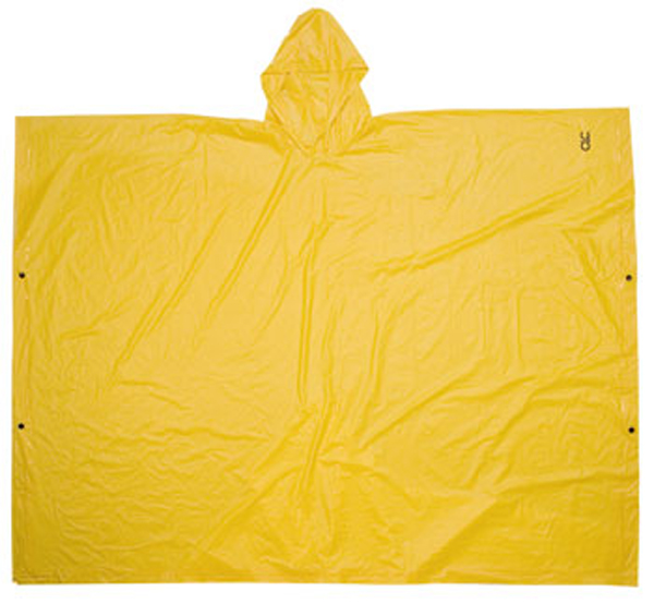 Image of Yellow .10mm PVC Poncho