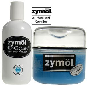Zymol HD Cleanse Pre-Wax Cleaner & Japon Wax Combo Kit