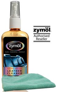 Zymol Leather Cleaner (8 oz.) & Microfiber Cloth Kit