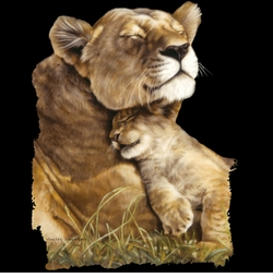 SOLD OUT! Beautiful Contentment Lion Lioness Cub Plus Size & Supersize T-Shirts S M L XL 2x 3x 4x 5x 6x 7x 8x (All Colors)
