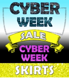<br><b><center>Cyber Sale 2019 SKIRTS