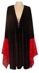 Black & Red Gothic Plus Size Shirt 1x 2x 3x 4x 5x 6x 7x 8x 9x