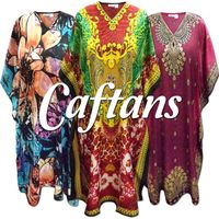 Caftans - Dresses & Tops<br>Plus Size & Supersize 0x to 6x