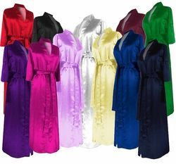 CLEARANCE! Plus Size Cotton or Satin Robes - Beautiful Lightweight Satin or Comfy Cotton 0x 1x 3x