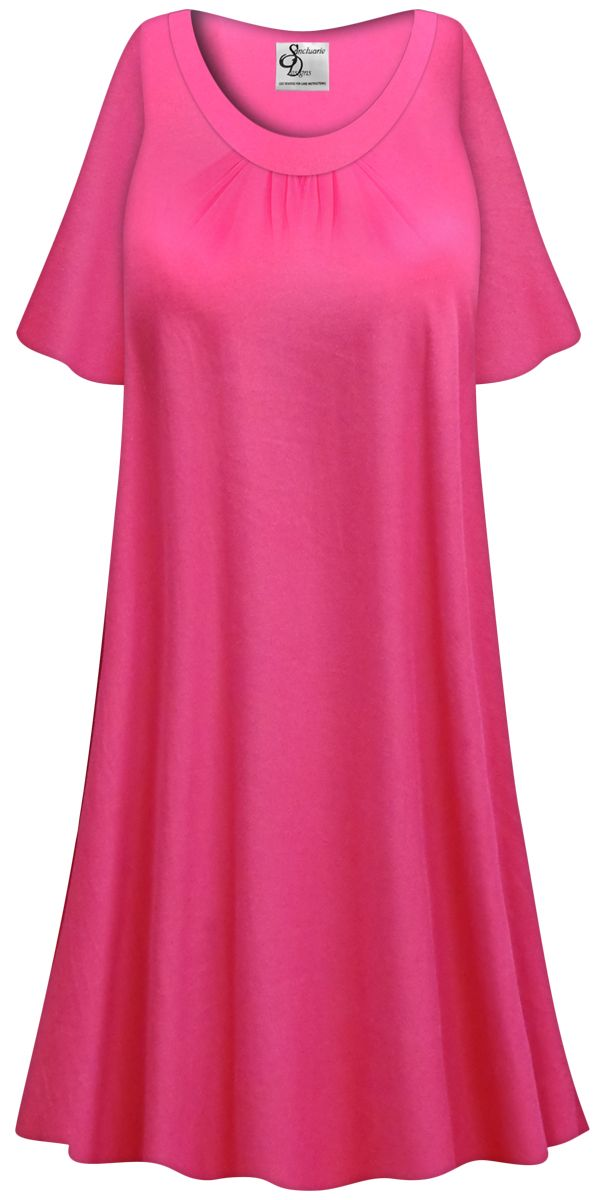 SOLD OUT! CLEARANCE! Plus Size Hot Pink Light Weight Sleep ...