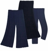CLEARANCE! Plus Size Pants, Skirts & Palazzos Navy Blue, Black or Purple Poly/Cotton, Slinky, Spandex,  or Velvet 1x