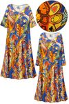 SOLD OUT! Plus Size Power Paisley Print Sleep Gown - Muumuu - Moo Moo Dress 6x
