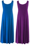 SOLD OUT! Purple or Royal Plus Size & Supersize Princess Cut Dresses