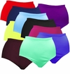 FINAL CLEARANCE SALE! Plus Size Solid Color Spandex Swimsuit Bottoms 0x 1x 2x 3x 4x 6x