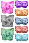 CLEARANCE! Tie Dye Plus Size Tube-Top / Bandeau Bra - Short or Long 6x