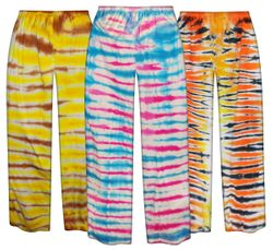 CLEARANCE ! Tiger Tie Dye Plus Size Pants 4x