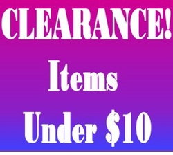 """CLEARANCE! - Under $10 <br><font size=""""1"""" color=""""red""""> (Last updatedc 12/2/10)</font>"""