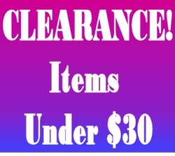 "CLEARANCE! - Under $30 <br><font size=""1"" color=""red""> (Last updated 12/1/10)</font>"