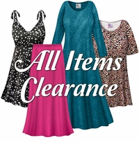 CLICK HERE TO VIEW ALL PLUS SIZE CLEARANCE ITEMS!!!