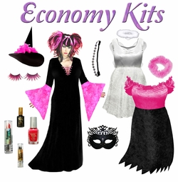 Economy Complete Costume Sets! Plus Size Economy Costumes on Sale!